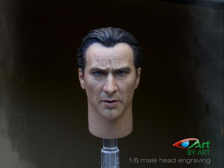BY-ART BA-001 Nicolas Cage Headsculpt