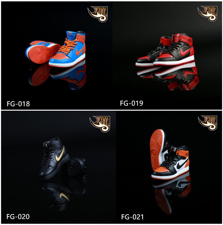 Fire Girl Toys FG019/FG020/FG021 1/6 Sports shoes AJ Basketball shoes