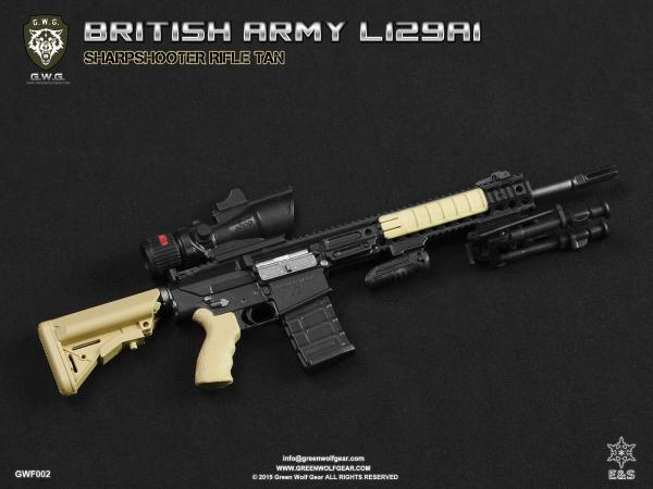 Easy & Simple BRITISH ARMY L129A1 SHARPSHOOTER FDE