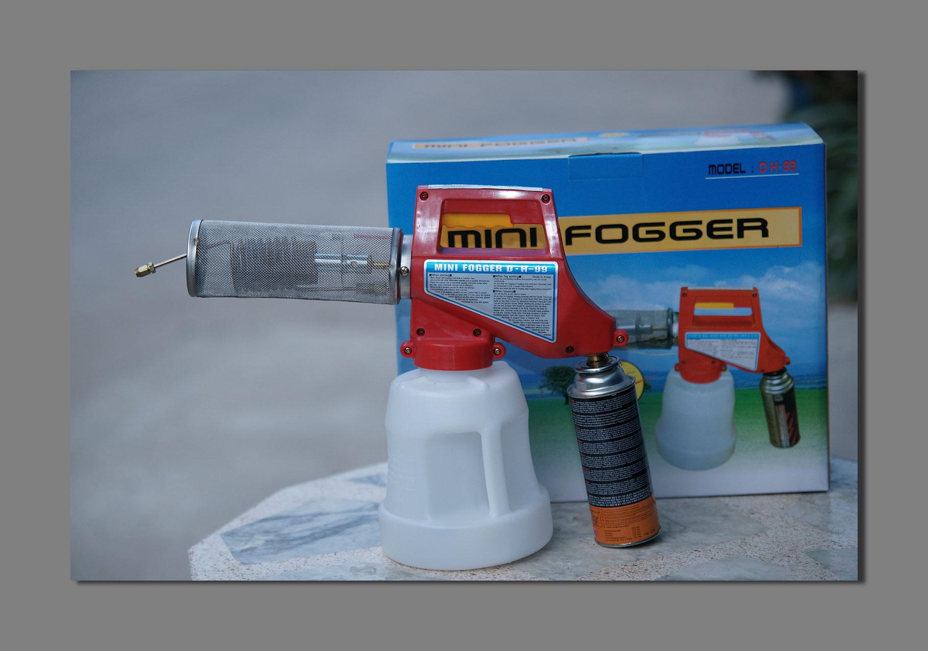 Mini Fogger เครื่องพ่นหมอกควัน สำหรับหรับกำจัดแมลง ยุง