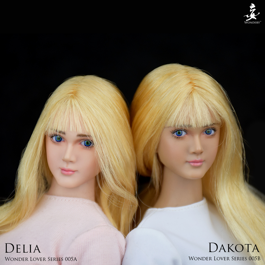 WONDERY WLS005A / WLS005B Wonder Lover Series 005 - Delia / Dakota