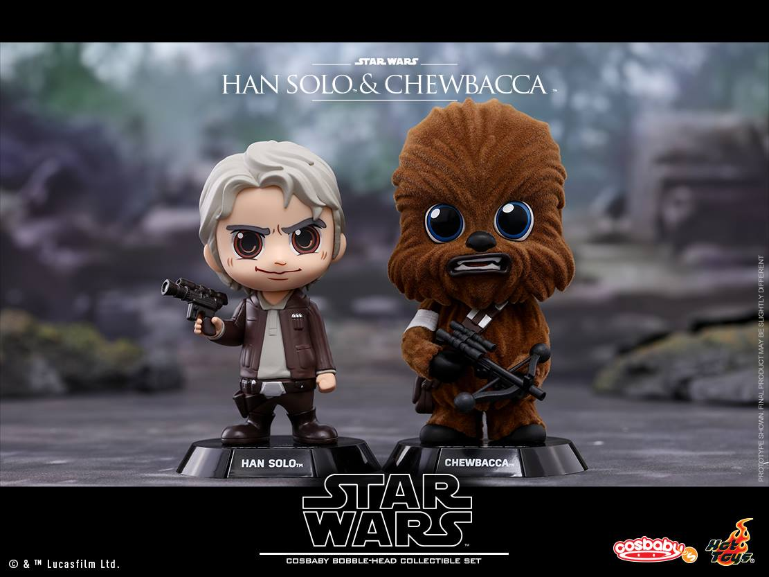 Hot Toys COSB406 Han Solo & Chewbacca