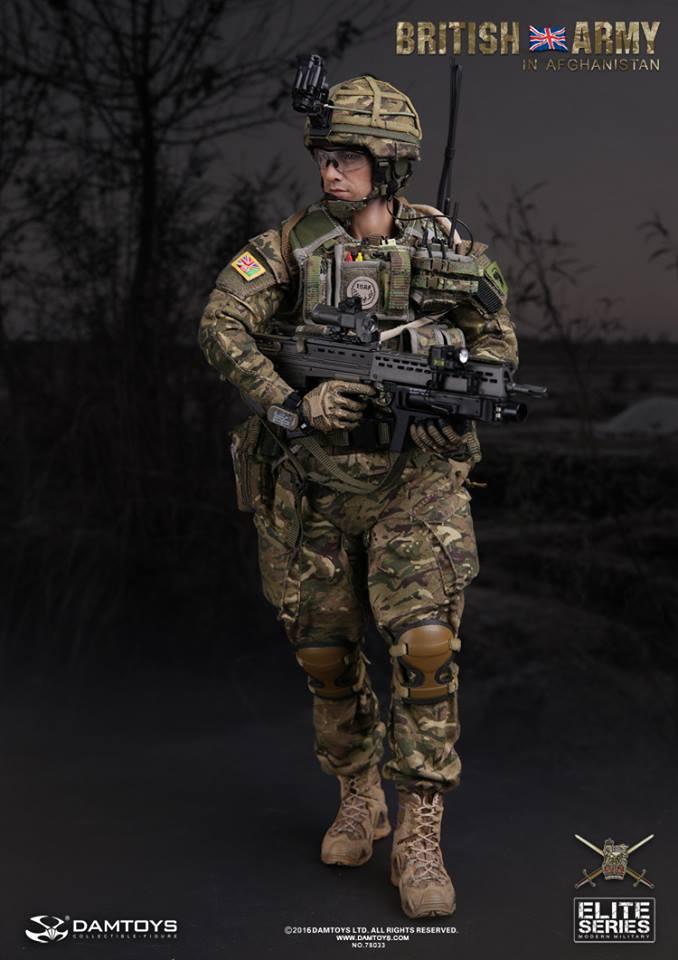 DAMTOYS No.78033 BRITISH ARMY IN AFGHANISTAN