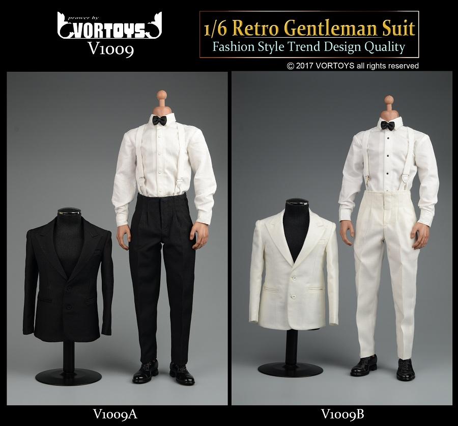 VORTOYS V1009A / V1009B Retro gentleman