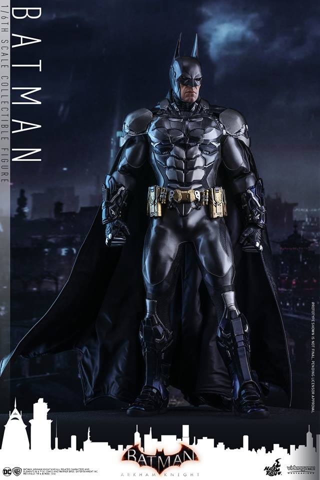 Hot Toys VGM26 BATMAN: ARKHAM KNIGHT - BATMAN