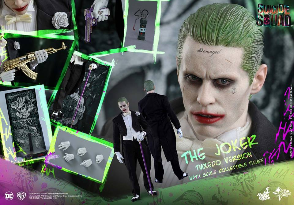 Hot Toys MMS395 SUICIDE SQUAD - THE JOKER (TUXEDO VERSION)