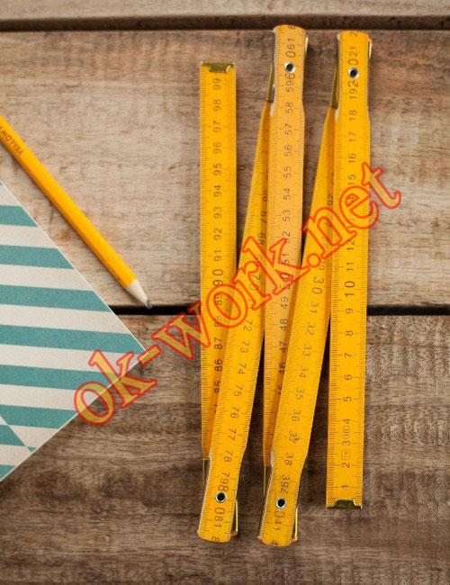 R03 ไม้ฟุตพับ 1 เมตรหน่วยเซนติเมตร สะดวกพา เพื่อเพิ่มความเท่ ! ในงานช่างของคุณ