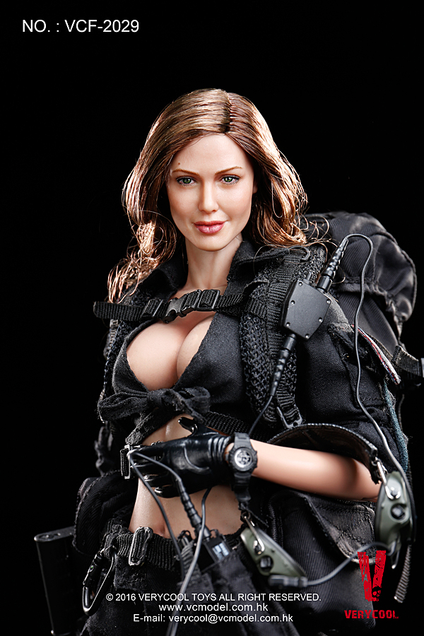 VERYCOOL VCF-2029 FEMALE SHOOTER - BLACK VER.