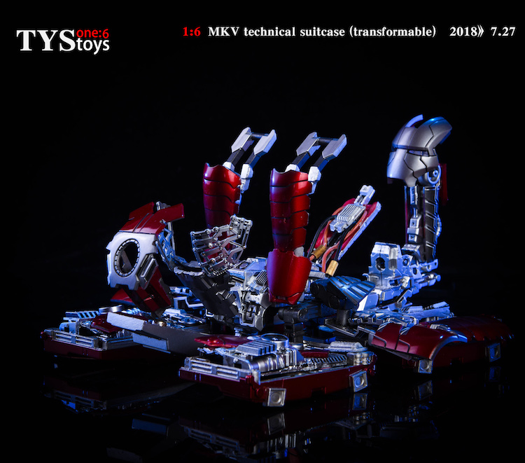 18/08/2018 TYStoys 1/6 MK.5 Technical suitcase (Transformable)
