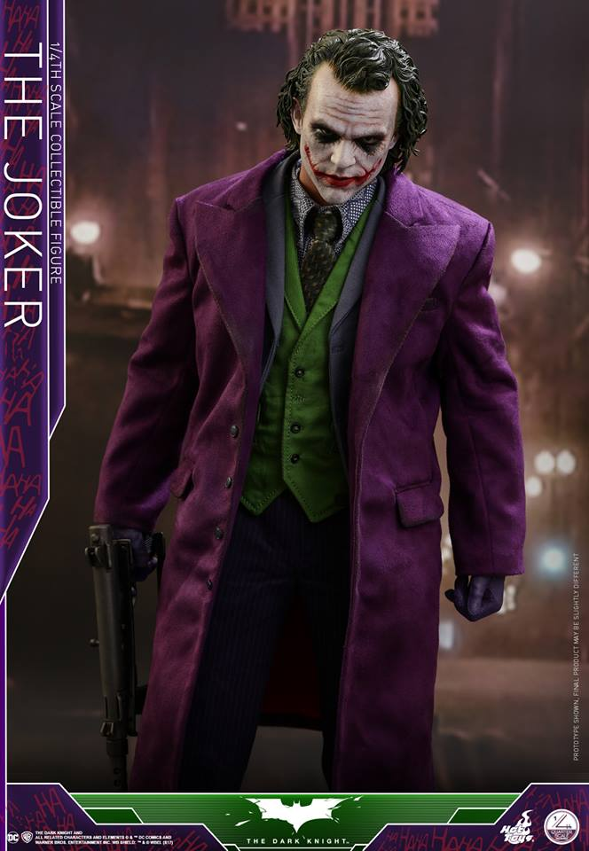 Hot Toys QS010 THE DARK KNIGHT - 1/4 THE JOKER