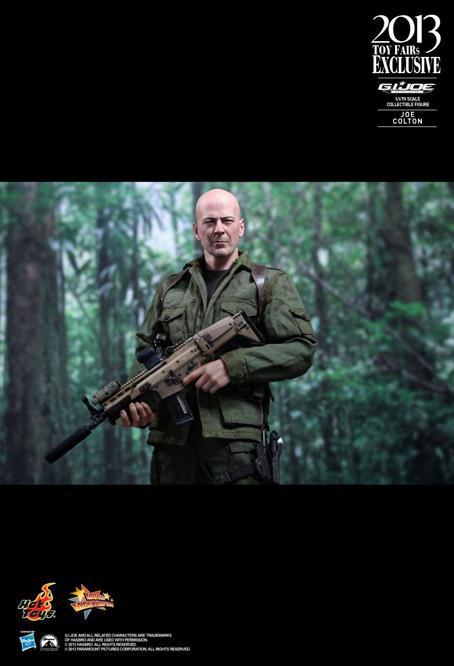MMS206 G.I. JOE RETALIATION - JOE COLTON