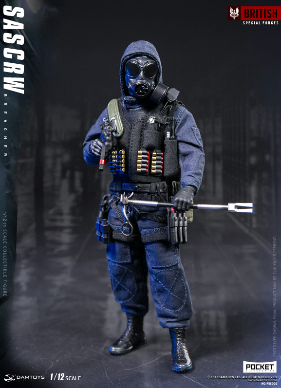 DAMTOYS PES002 1/12 POCKET ELITE SERIES - SAS CRW Breacher