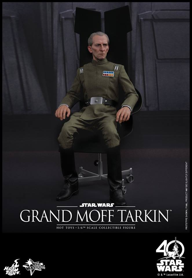 Hot Toys MMS433 STAR WARS: EPISODE IV A NEW HOPE - GRAND MOFF TARKIN