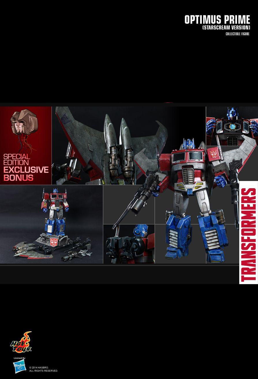 HOT TOYS TF001 THE TRANSFORMERS GENERATION 1: Optimus Prime (Starscream Version)
