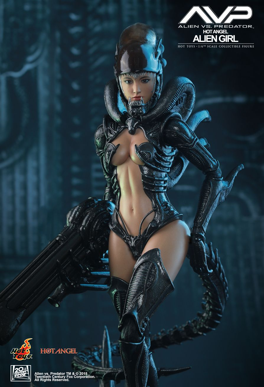 Hot Toys HAS002 AVP - ALIEN GIRL