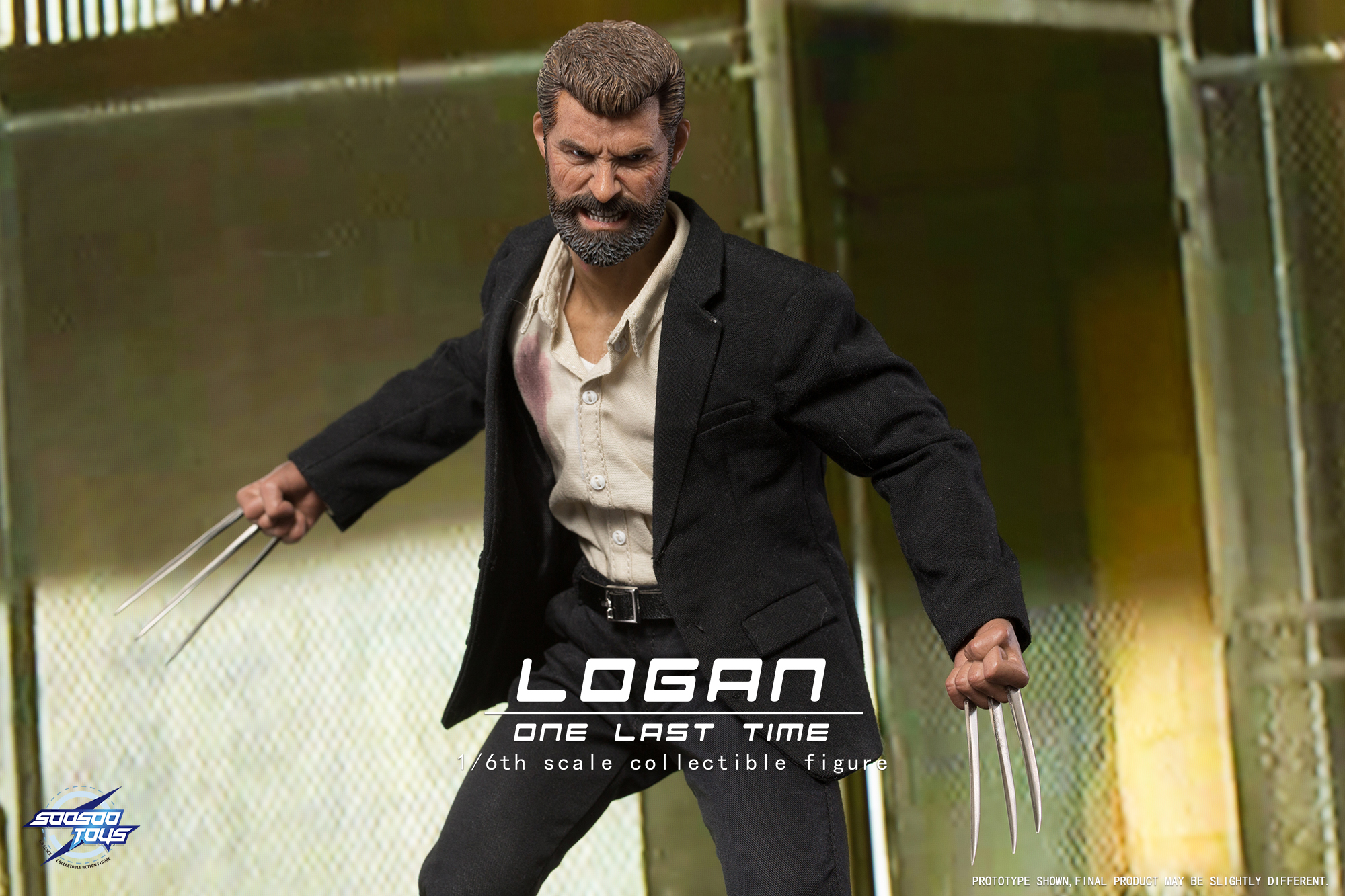 Soosootoys SST003 1/6 LOGAN (Wolf Uncle)