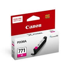 ตลับหมึกแท้ Canon 771 M สีแดง ราคา 530 บาท