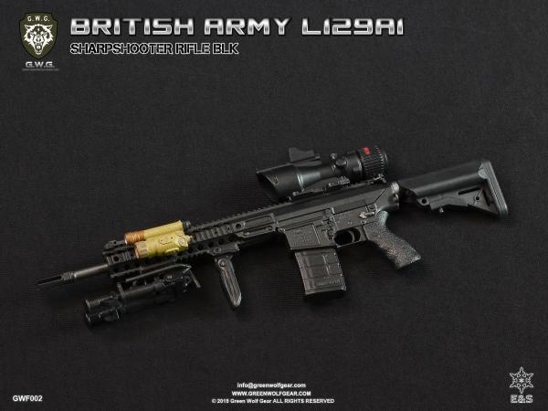 Easy & Simple BRITISH ARMY L129A1 SHARPSHOOTER BLK