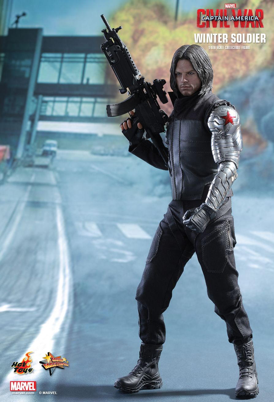 Hot Toys MMS351 CAPTAIN AMERICA: CIVIL WAR - WINTER SOLDIER