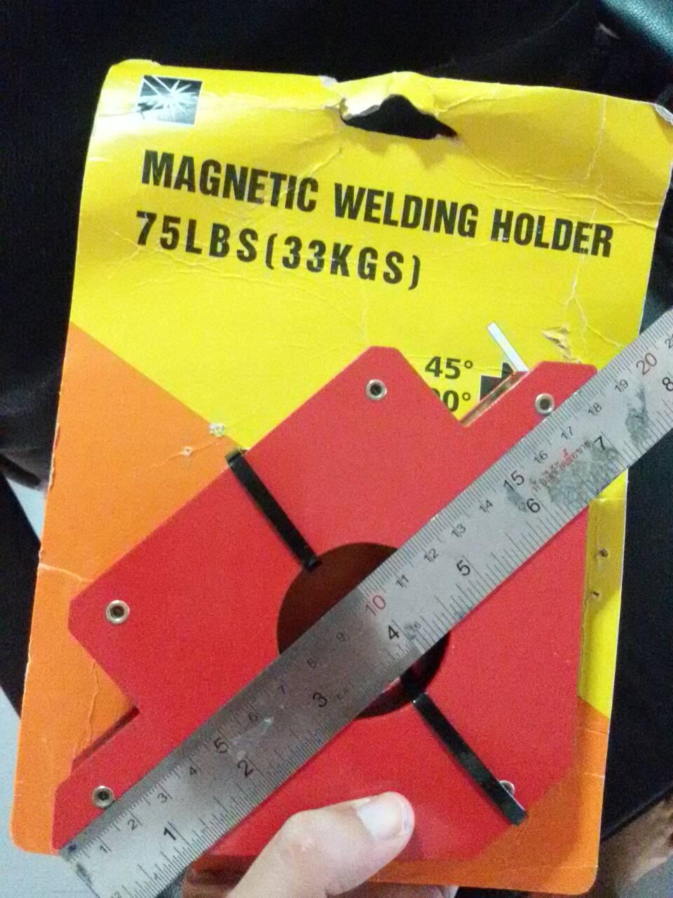 MD03 แม่เหล็กจับงานเชื่อม ขนาด 190*120*26 mm ใหญ่สุด