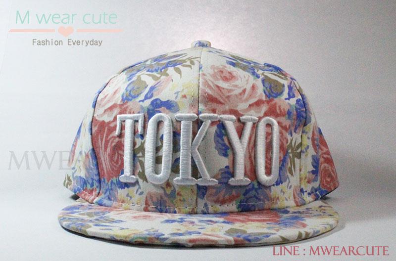 หมวกแก๊ปแฟชั่น ลาย Tokyo