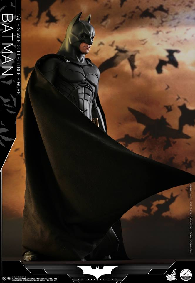 Hot Toys QS009 BATMAN BEGINS - 1/4 BATMAN