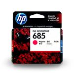 ตลับหมึกอิงค์เจ็ท HP685 Color สีแดง ของแท้ 100%