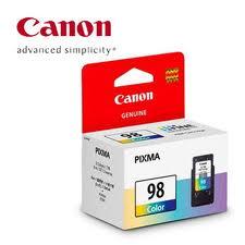 ตลับหมึกอิงค์เจ็ท Canon CL-98 ราคา 550 บาท ฟรีส่ง