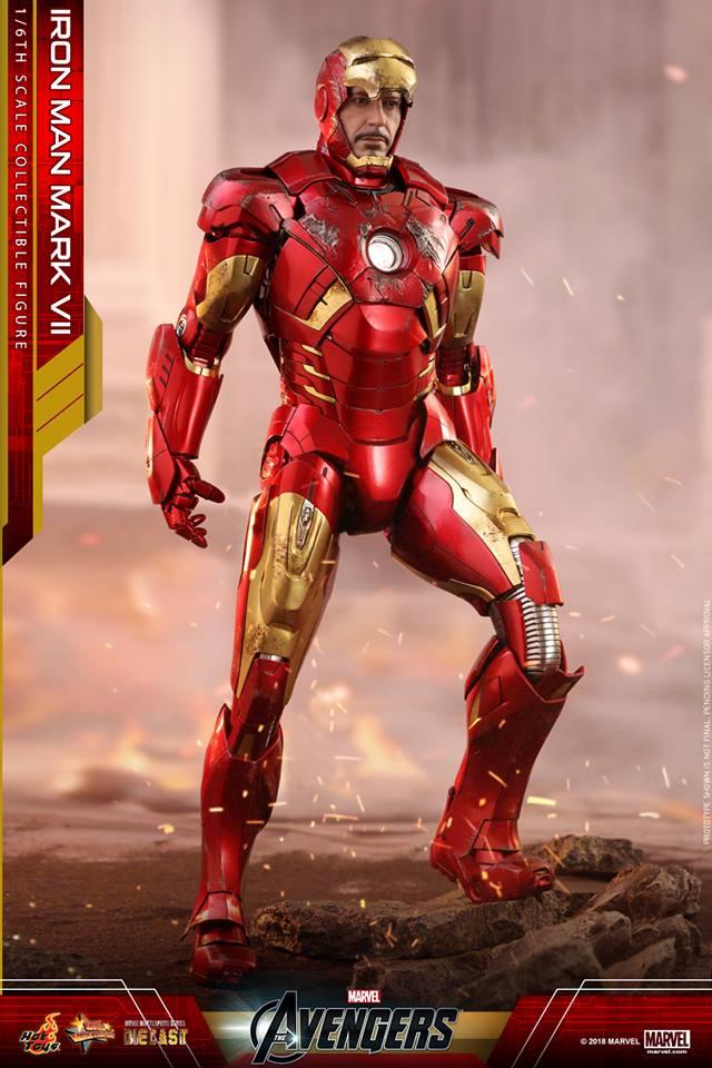 24/08/2018 Hot Toys MMS500D27 THE AVENGERS - IRON MAN MARK VII