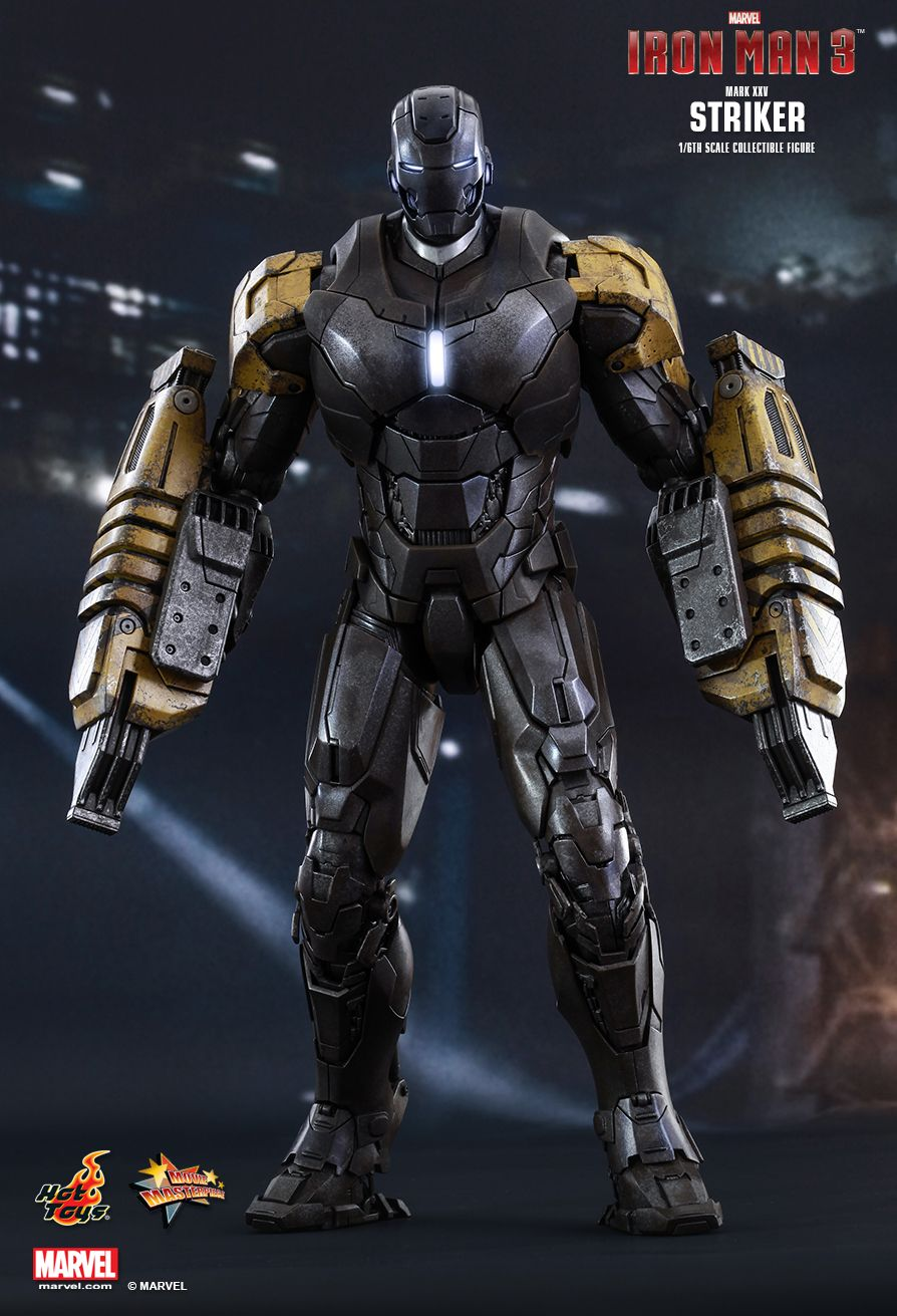 Hot Toys MMS277 IRON MAN 3 - STRIKER (MARK XXV)