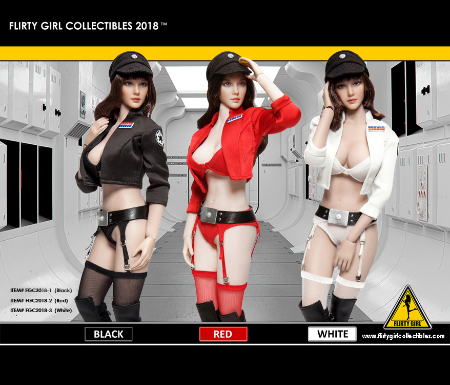 FLIRTY GIRL FGC2018-1 / FGC2018-2 / FGC2018-3 Female Cosplay Clothing set