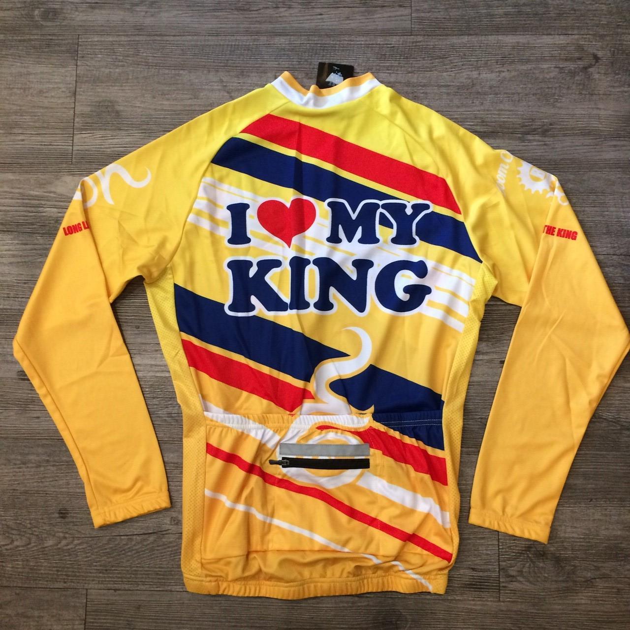"BCR-18 LONG LIVE THE KING M"" (แขนยาว)"