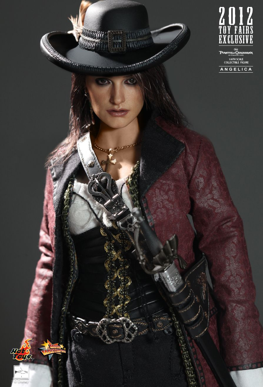 Hot Toys MMS181 PIRATES OF THE CARIBBEAN: ON STRANGER TIDES - ANGELICA (2012 TOY FAIRS EX)