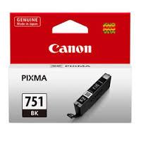 ตลับหมึกแท้ Canon 751 สีดำ Black ราคา 520 บาท
