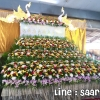 ดอกไม้หน้าศพ แบบสวน 3 ชั้น