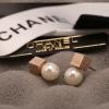 Cube Pearl Earrings by CC