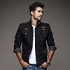 เสื้อแจ็คเก็ตฟิลนาวิก J005 (สีดำ) สินค้านำเข้า-พร้อมส่ง