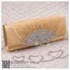 bs0007 กระเป๋าคลัช สีทอง กระเป๋าออกงานพร้อมส่ง ราคาถูกกว่าเช่า แบบสวยๆ ดูดีเหมือนดาราใช้