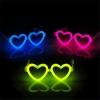 แว่นเรืองแสง หักแล้วเรืองแสง รูปหัวใจ