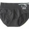 กางเกงในหญิง ลาย Kitty สีดำ
