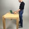 "(Pre-order) Mini-Worlds Model M0010615-FM01 ""Wooden Table Set""."
