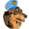หมวกทหาร /ตำรวจ สำหรับ สุนัข และแมว