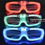 แว่นตามีไฟ LED กระพริบตามจังหวะเพลง