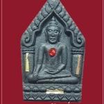พระขุนแผน รุ่นรับทรัพย์ ฝังตะกรุดสามกษัตริย์ 3 ดอกพลอยแดง หลวงปู่ชื่น วัดตาอี จ.บุรีรัมย์ ปี 2545