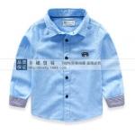 Pre-order เสื้อเชิ้ต / แพ็คละ 5 ตัว / สีฟ้า