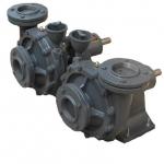 ปั๊มแรงดังสูงเพชรรวงข้าว Hight Pressuer Centrifugal Pump Model Mu-250R (หมุน ขวา)
