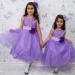 Pre-order ชุดราตรี / Size 110 / Purple