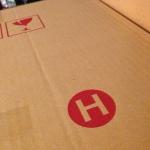 กล่องไปรษณีย์ฝาชน เบอร์ H