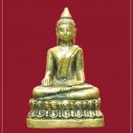 รูปหล่อพระเจ้าใหญ่ วัดหงษ์ (วัดศรีษะแรด) รุ่นมหาบารมี เนื้อทองเหลือง จ.บุรีรัมย์ ปี2556