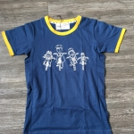 W Family bike Dark blue 'Yellow Border XS